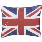 Catherine Lansfield Britains Finest Navy Cushion