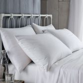 Bianca 100% Cotton Soft 190gsm Flannelette Pillowcases - White