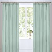 Country Journal Butterfly Thermal Tape Top Curtains - Multi
