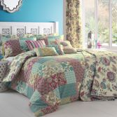 Marinelli Floral Reversible Duvet Cover Set - Multi