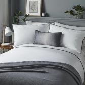 Pom Pom Duvet Cover Set - Grey