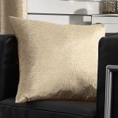 Glitter Glamour Cushion Cover - Gold