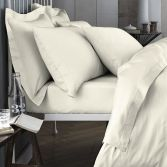 Bianca 100% Cotton Soft 200 TC Extra Deep Fitted Sheet - Cream