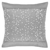 Catherine Lansfield Glitzy Sequin Cushion Cover - Silver Grey