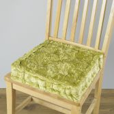 Velvet Box Seat Pad - Green