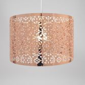 Large Marrakech Metal Light Shade - Copper