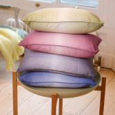 Ombre Watercolour Cushion Cover - Silver