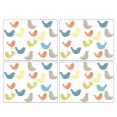 Catherine Lansfield Scandi Birds Placemats Set of Four