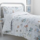 Billy Bunny Tea Party Duvet Cover Set - Blue Multi