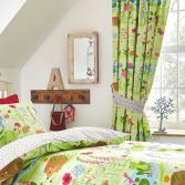Bluebell Woods Fully Lined Tape Top Curtains - Multi