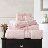 Bliss Pima 100% Cotton 650gsm Bathroom Towel - Pink