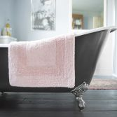 Bliss Reversible 100% Cotton 2200GSM Bath Mat - Pink