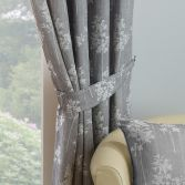 Arlington Curtain Tie Backs - Silver Grey