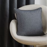 Twilight Cushion Cover - Charcoal Grey
