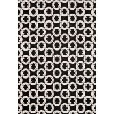 Arlo Geometric Buckle Rug - Black 03