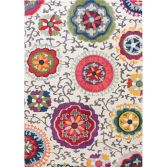 Colores Machine Woven Floral Rug - Multi 01
