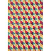 Colores Machine Woven Geometric Rug - Multi 07