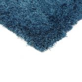 Diva Table Tufted Plain Rug - Blue
