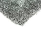 Diva Table Tufted Plain Rug - Silver