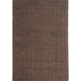 Ives Hand Woven Chenille Runner - Chocolate Brown