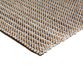 Linden Hand Woven Stripe Rug - Orange