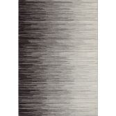 Nova Rug Machine Woven Stripe Rug - Ombre Grey 13