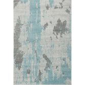 Nova Rug Machine Woven Plain Rug - Duck Egg Blue 15