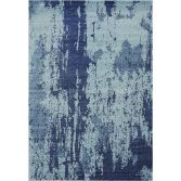 Nova Rug Machine Woven Plain Rug - Navy Blue 16