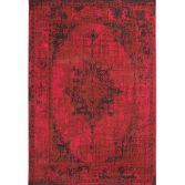 Revive Machine Made Floral Rug - Red 05