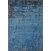 Revive Machine Made Plain Rug - Blue 12