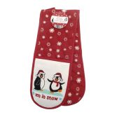Double Oven Glove - Penguins