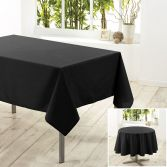 Essentiel Plain Tablecloth - Black