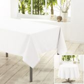 Essentiel Plain Tablecloth - White