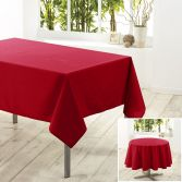Essentiel Plain Tablecloth - Red