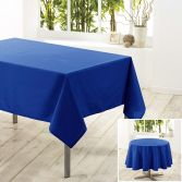 Essentiel Plain Tablecloth - Indigo Blue