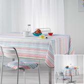 Analea Stripe Tablecloth - Multicolour