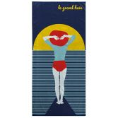 Colourful 100% Cotton Beach Towel - Sunset