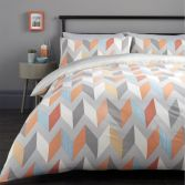 Grafix Geometric Duvet Cover Set - Multi