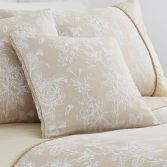 Jasmine Floral Cushion Cover - Champagne Cream