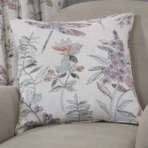 Dragonfly Floral Cushion Cover - Multi