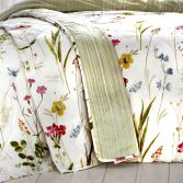 Spring Glade Floral Quilted Bedspread - Multi