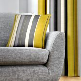 Wentworth Striped Cushion Cover - Ochre Yellow