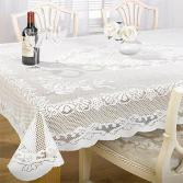 Chantal Lace Tablecloth White