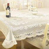 Chantal Lace Tablecloth Cream