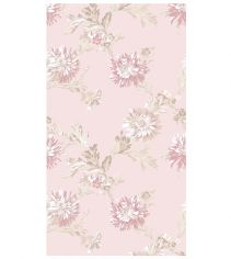 Chrysanthemum 100% Cotton Towel - Pink
