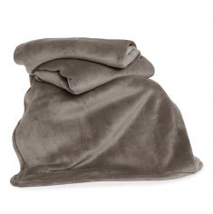 Hudson Plain Soft Throw - Natural