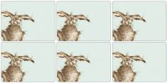 Pimpernel Wrendale Hare Placemats Set of Six