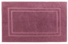 Bianca 100% Cotton Soft Egyptian Bath Mat - Mulberry Purple