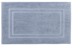 Bianca 100% Cotton Soft Egyptian Bath Mat - Chambray Blue