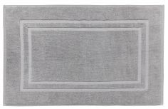 Bianca 100% Cotton Soft Egyptian Bath Mat - Grey